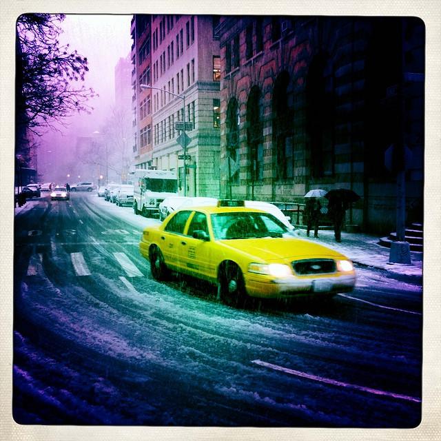new york winter, by Devyn Caldwell